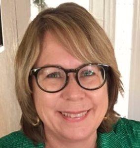 Martha with glasses